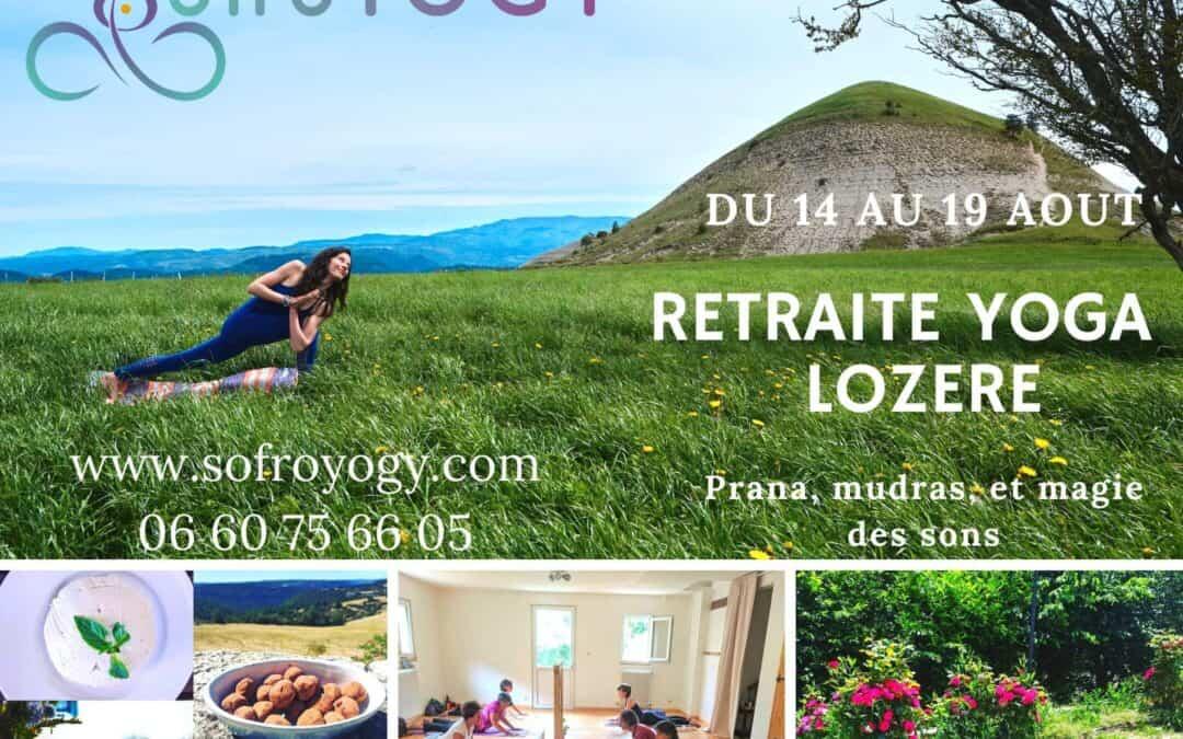 Retraite d'été Yoga du 14 au 19 Août en Lozère