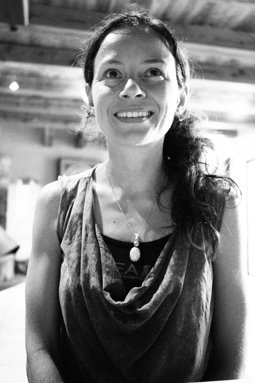 Photo en noir et blanc d' Olivia Charpentier