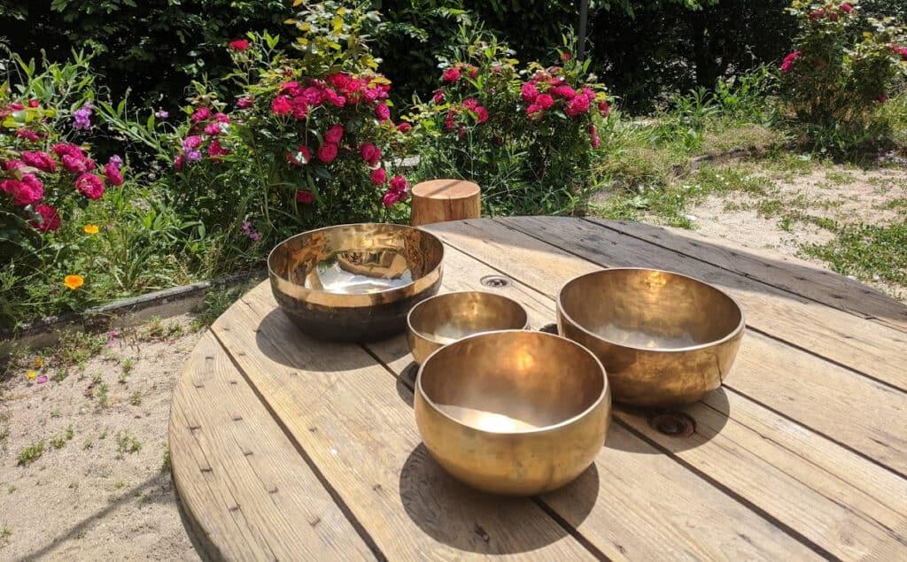 Sonothérapie avec des bols tibétains SofroYOGY
