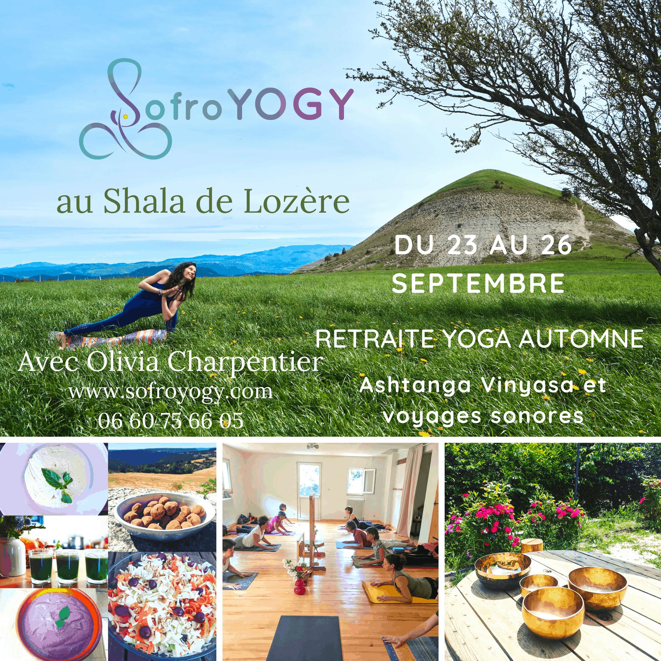 Affiche de la retraite ashtanga yoga