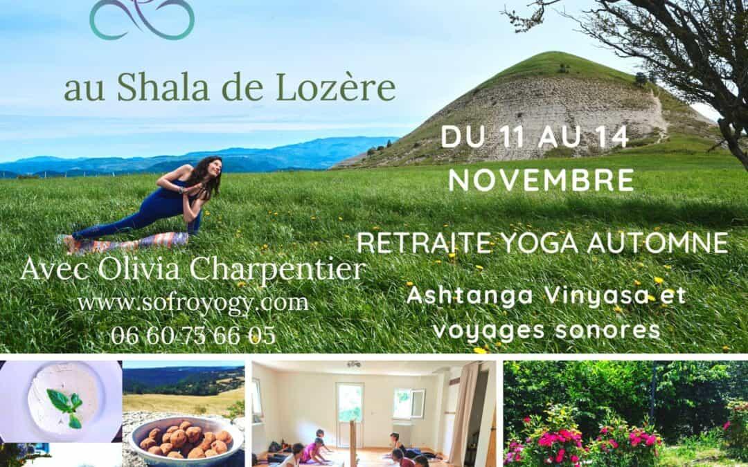 Retraite Ashtanga Yoga et Voyage intérieur