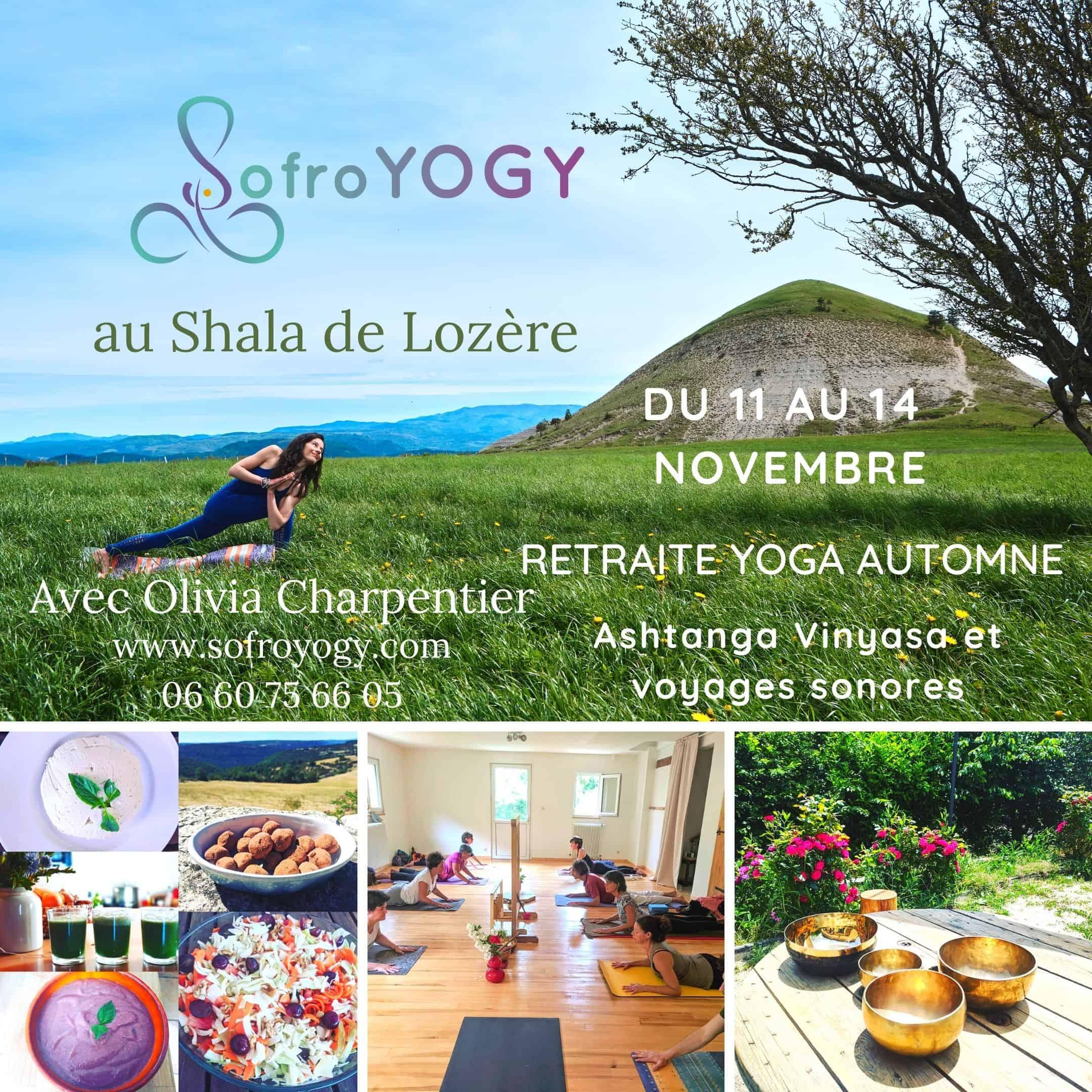 retraite ashtanga yoga nature lozere cuisine vegan sonotherapie