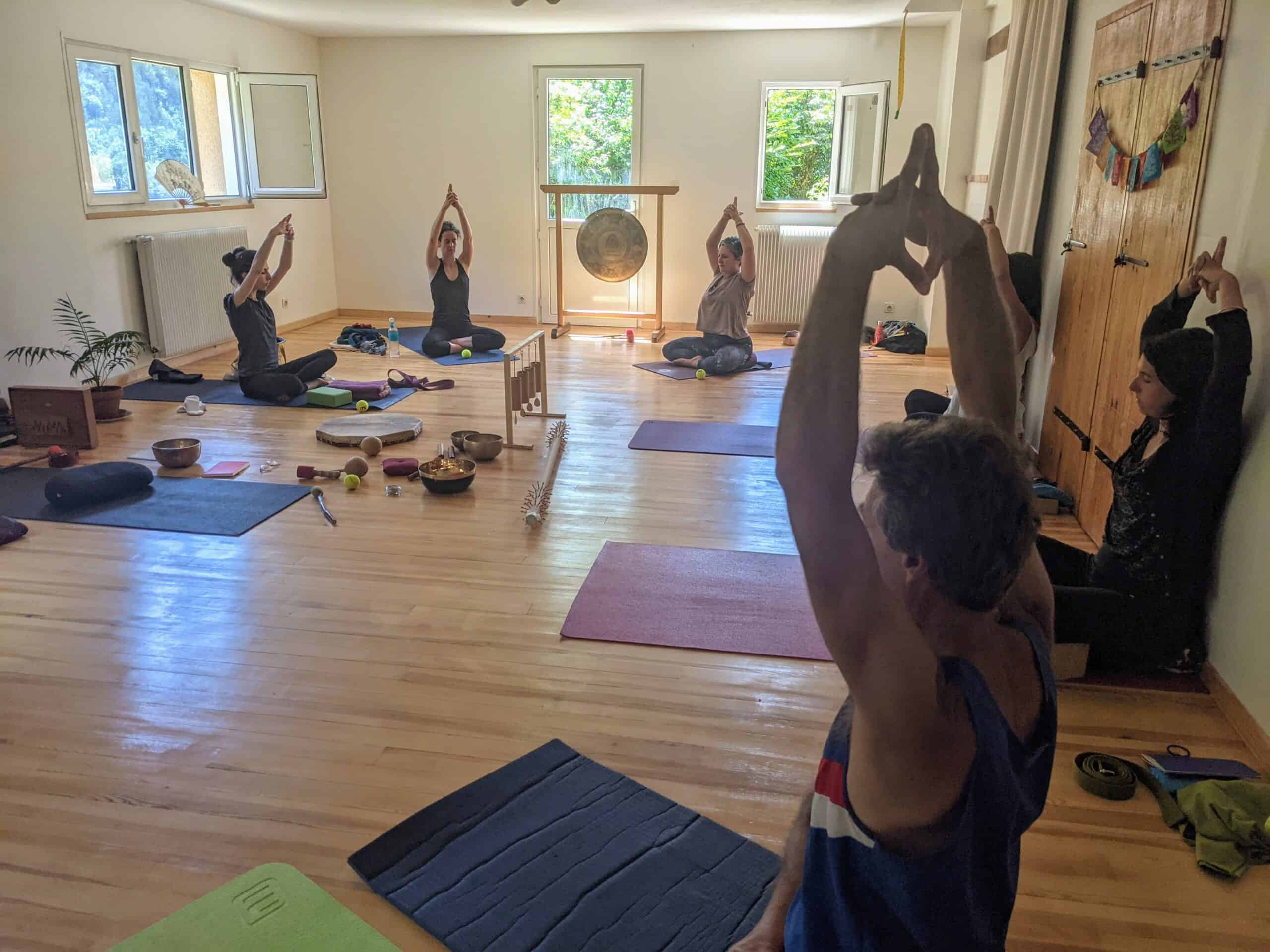 atelier yoga mudra shala de Lozere