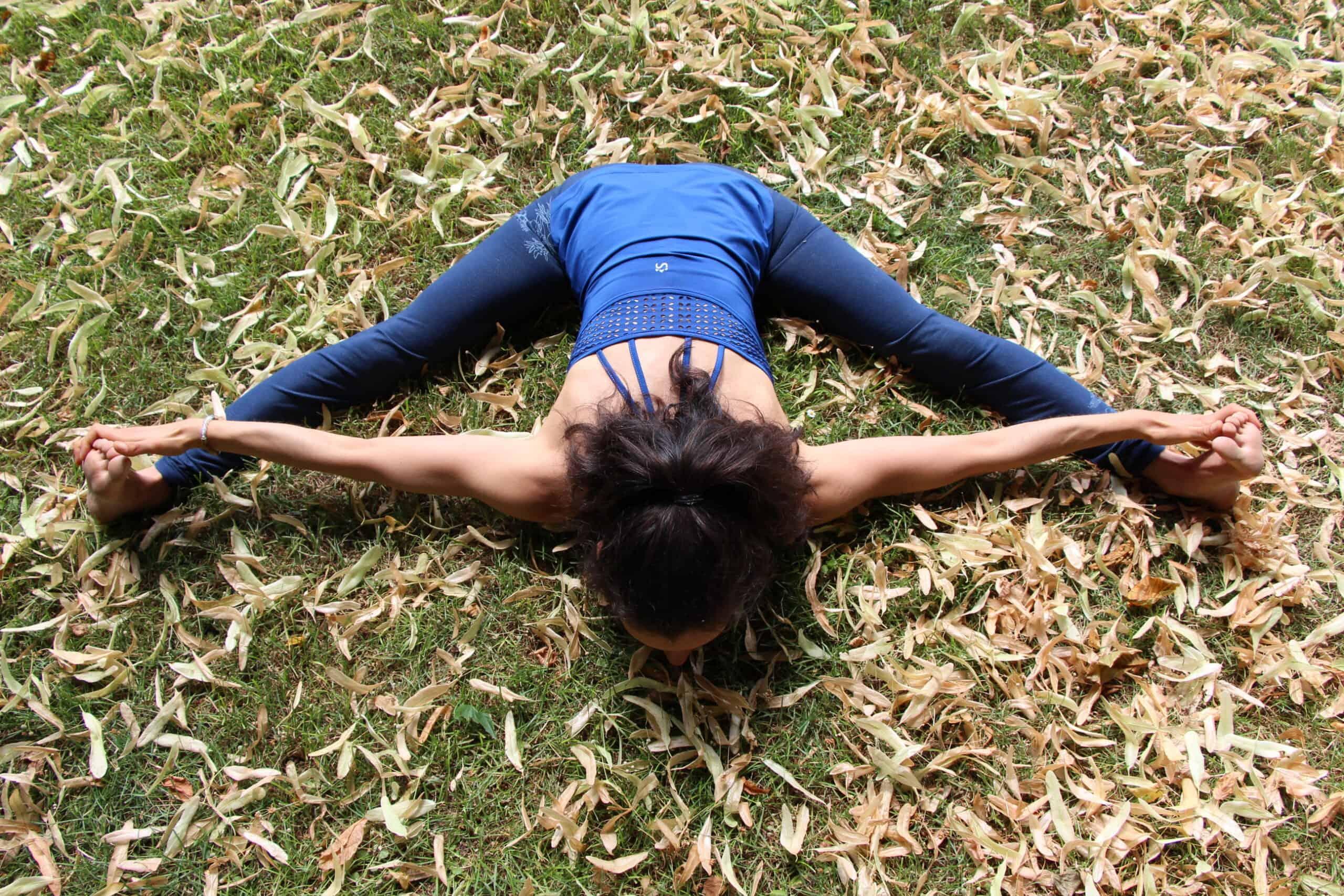 upavistha konasana posture de l'angle (SofroYOGY)
